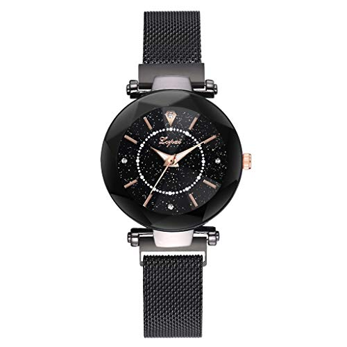 4b7e1e888b4f Reloj de la Moda de Las Mujeres de Starry Sky Watch Estudiante Simple Reloj  de Cristal