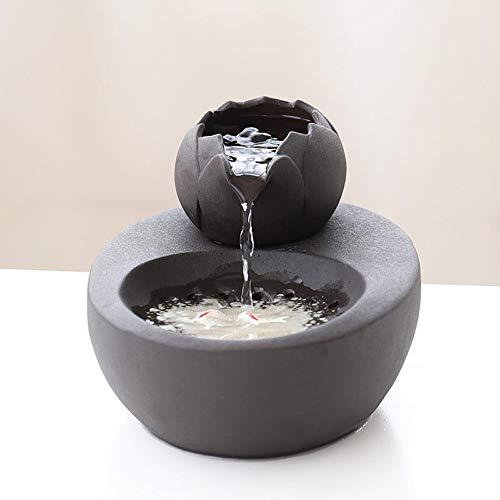 Tragbarer Wassertank-Wasserspender mit automatischem Zyklus Katzenhund-Wasserspender-Haustierwasserspender, graue Farbe 20.6 * 16.7 * 13.8cm -