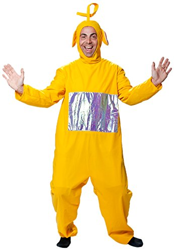 Joker j506-001 teletubbies laa-laa adulto costume di carnevale, in busta, giallo