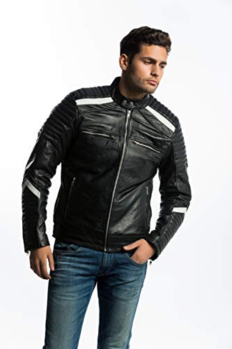 Urban Leather Giacca Simon da Uomo  4ffeb269ef2d