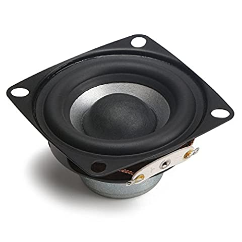 DROK® 2-inch 12W HIFI Full Range Speakers with Subwoofer, 8Ω