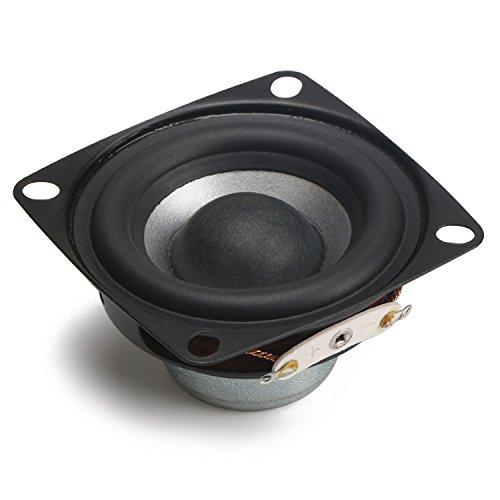 DROK® Altoparlanti da 2 pollici 12W HIFI Full Range con subwoofer, 4Ω altoparlanti con 88dB alta sensibilità, Full-home range woofer altoparlanti stereo adatto a DIY Desktop Speaker