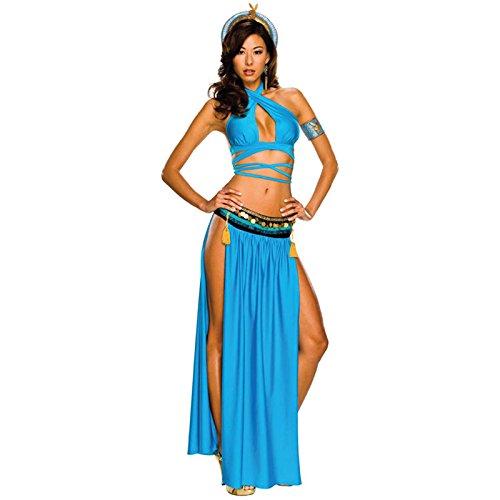 Gorgeous Alte ägyptische Spezialitäten Hoftracht Stadiumsleistungskleidung Uniformen cosplay Spiel