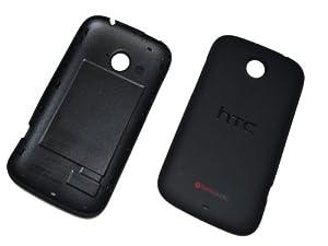 HTC Desire C Akkudeckel Akku Deckel Cover Schale Gehäuse black Original Neu