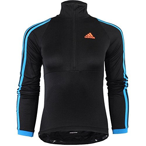 Adidas Response Longsleeve Jersey W D84487 Damen Radfahrtrikot / Radsport Shirt / Radtrikot Schwarz S - Response Long Sleeve Tee
