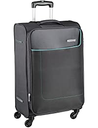 American Tourister Jamaica Polyester 58 cms Grey Softsided Carry-On (27O (0) 08 001)
