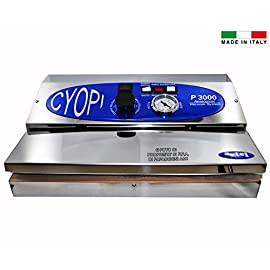 Macchina Sigillatrice per Sottovuoto Inox Professionale Italiana P300 Confezionatrice