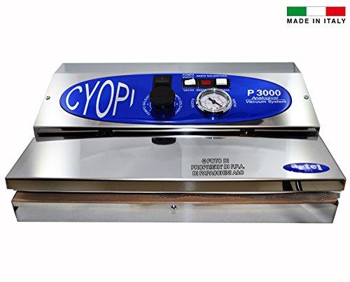 Macchina Sigillatrice per Sottovuoto Inox Professionale Italiana P3000 Confezionatrice