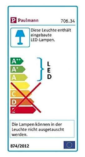 Paulmann 70634 MaxLED RGBW LED Strip beschichtet LED Stripe 1 m Lichtstreifen 12W Lichtband Multicolor mit Farbwechselfunktion