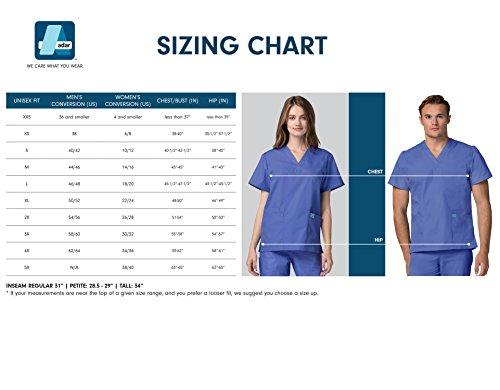 Medizinische Uniformen Unisex Top Krankenschwester Krankenhaus Berufskleidung 601 Color Nvy | Talla: M - 7
