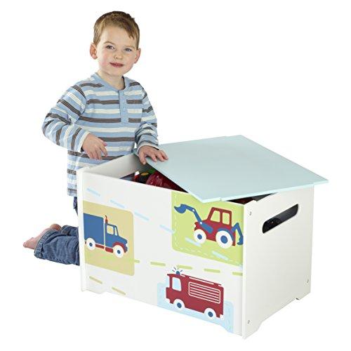 HelloHome muchachos vehículos caja de juguetes
