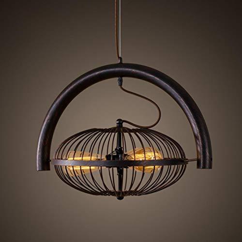 Ventilador creativo Lámpara colgante Loft Retro Vintage n Diseño industrial Colgante de...