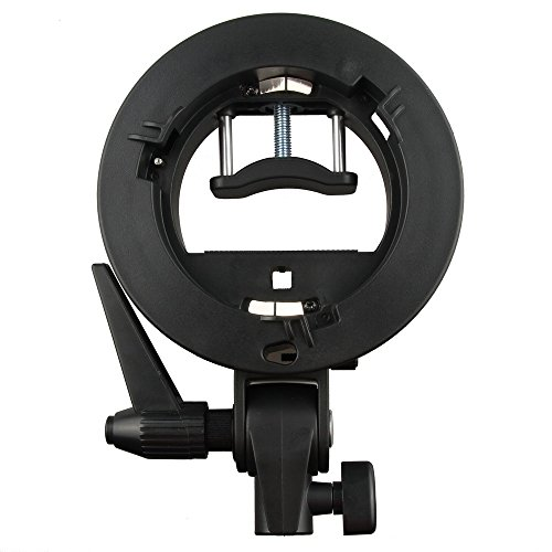 Fotga S-Buegel Bowens S Mount Halterung fuer T + L Speed Ring Softbox Speedlite Beauty Dish Reflexschirm Bowens Speed Ring