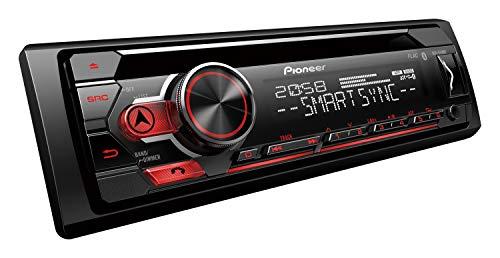 Pioneer DEH-S410BT 1-DIN Autoradio-Set für LKW/Truck/Bus/24 Volt/24V (Radio 24 Volt)