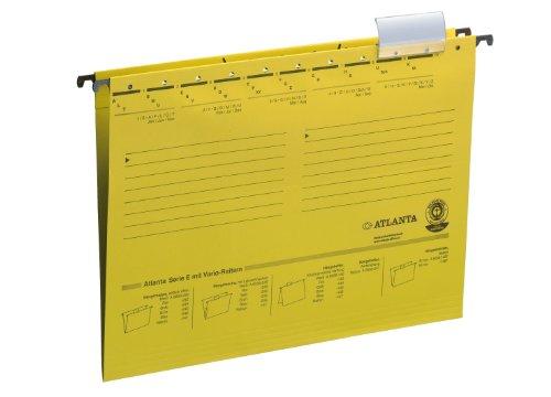 Preisvergleich Produktbild Jalema 2655024400 Atlanta Serie E Hängemappe A4, 25er Packung, gelb