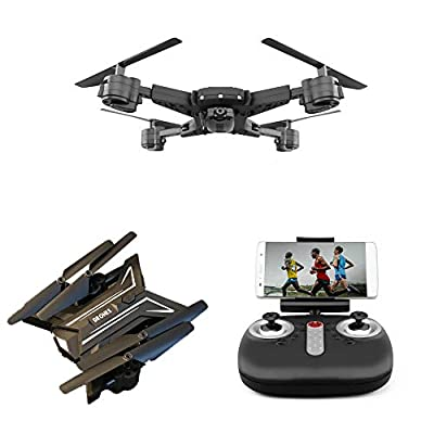 FLYTR Drone With HD Wi-Fi Camera,4-Axis Gyro Quadcopter For Kids & Beginners