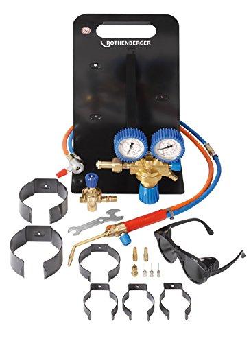Rothenberger Industrial Roxy Universal Autogenschweiß- und Hartlötgerät, Grundgerät ohne Gas und Sauerstoffbehälter