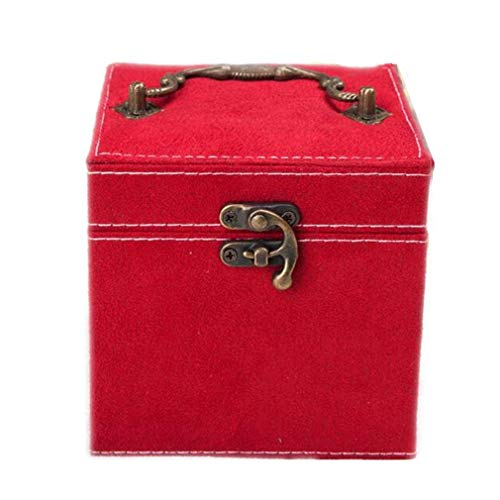 La caja de reloj de retrato familiar de PU puede verse en una caja de visualización de reloj tridimensional...