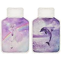Cassandra Wärmflasche mit Einhorn oder Dolphin Kunstfell und Stoff, sortiert preisvergleich bei billige-tabletten.eu