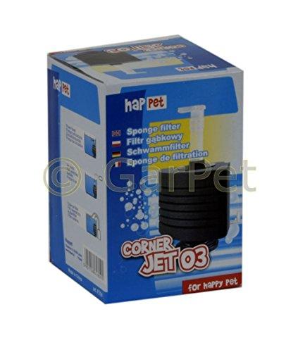 CORNER JET ECK Schwammfilter Innenfilter Biofilter Filter Filterschwamm Standfuß (Corner-Jet 03)