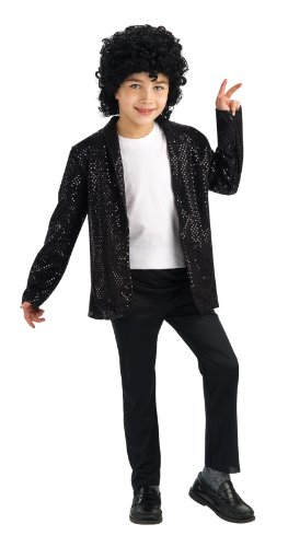 1 Michael Jackson Billie Jean Jacket Deluxe Child (Michael Jackson Halloween-kostüm Für Kinder)