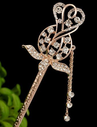 Quasten Schritt schütteln eine kostüm - klassische Palast haarnadel - Schmuck Pearl. - Eine haarnadel.(G) (Pearl Kostüme)