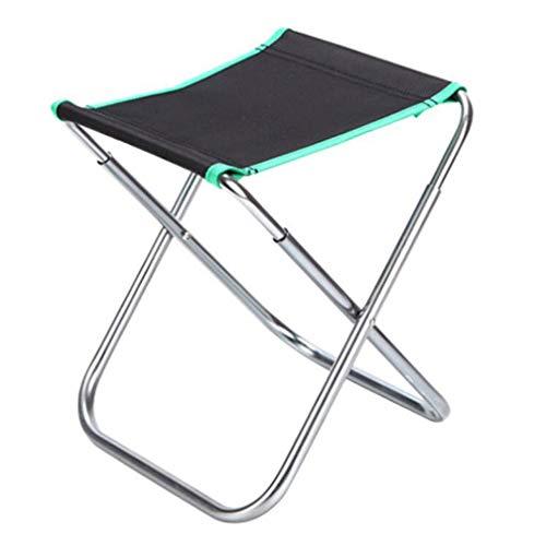 SZP Tabouret Pliant en Plein air, Chaise de pêche en Aluminium, Anti-salissure résistant à l'usure, Facile à Nettoyer, approprié pour équitation Barbecue Party Alpinisme Maison Plage