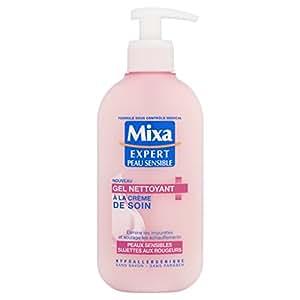 mixa expert peau sensible gel nettoyant anti rougeurs la cr me de soin 200 ml. Black Bedroom Furniture Sets. Home Design Ideas