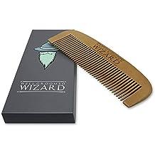 Pettine Classico Di Legno Antistatico Per La Barba, Baffo E Cappelli | Uso Con Oli, Balsami E Cera | Il Perfetto Tascabile Alta Qualità Regalo