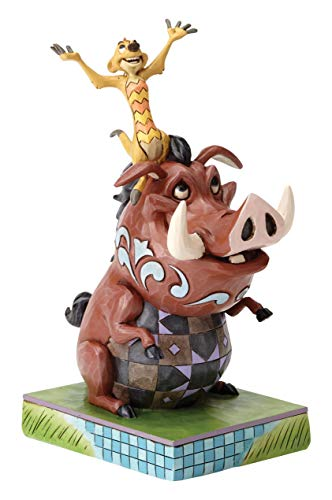 Disney Tradition Carefree Cohorts (Timon & Pumbaa Figur) -