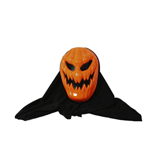 BESTOYARD Halloween Kürbis Masken Schädel Geist Maske Kostüm Party Requisiten Masken Scary Evil Creepy Face