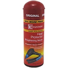 Fantasia High Potency IC Heat Protector Straightening Serum, Hair Polisher, 6 oz. by Fantasia Industries Corporation