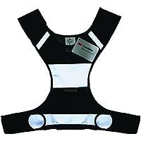 Salzmann 50021–Gilet de sécurité Sport Unisexe, Couleur Noir, taille unique