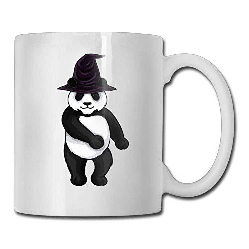 Halloween Panda Witch Hat 11oz Ceramic Coffee Mugs Best Birthday Christmas and Inspirational Gift (Halloween Panda Express)