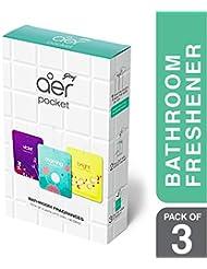 Godrej aer Pocket - Bathroom Fragrances - 3x10 g Pack