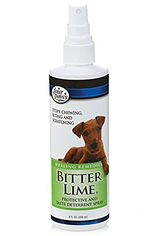 Four Paws Products Bitter Lime Pump Spray 8 Ounces - 17060