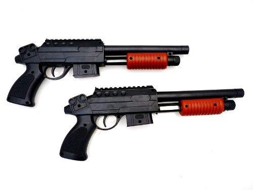 Nick and Ben N&B Kinder Softair Set 2 Pumpgun Gewehre + 1000 Kugeln