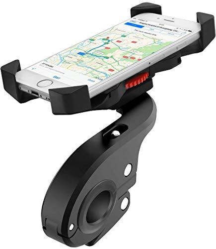 Faneam Handyhalterung Fahrrad Anti-Shake Universal Motorrad Handyhalterung mit 360 Drehen, Fahrrad Halterung fur Smartphone von 4-6.5 Zoll Smartphone