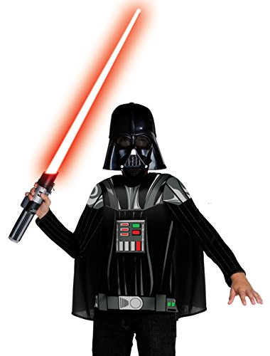 Rubies 3881328 - Darth Vader Dress up Child Kostüm, (Halloween Ag Kostüme)