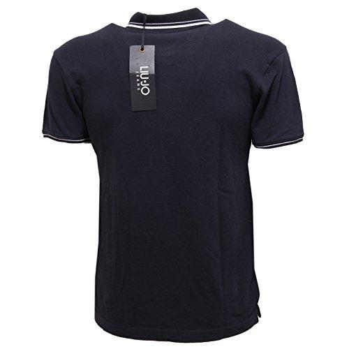 37940 polo LIU JO JEANS maglia uomo t-shirt men BLU Blu