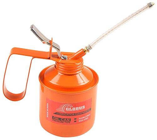 Globus Lubricant Multipurpose Oil Can (250 ml, Orange)