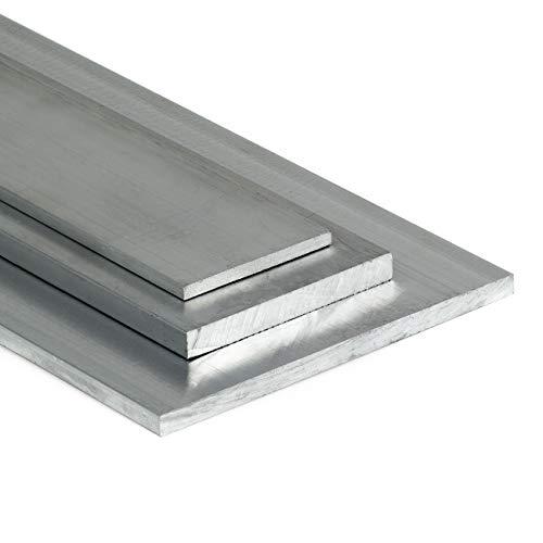 Aluminium Flachstange AlMgSi05 20x4mm - Länge 1000mm / 100cm auf Zuschnitt
