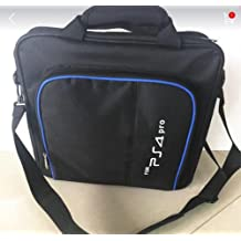 GADGETS WRAP Multi-Function Travel Storage Shoulder Bag for PS4 Pro / Slim Console Controller.