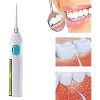 SHUFAGN,Equipo Dental del Cuidado Dental del Jet de la Limpieza del Diente del Agua Oral del Poder de la Seda Dental(Color:Blanco)