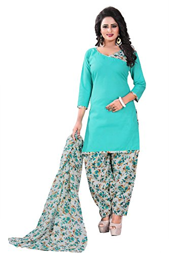 Crazy Women's Clothing Cotton Dress Material Unstitched With Cotton Dupatta