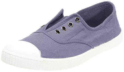 Victoria Inglesa Elastico Tenido Punt - Zapatillas de deporte de tela para mujer, Azul, 38