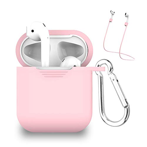 Schutzhülle und Eingabestift für Apple MYBAT AirPods (inklusive Schlaufe, für folgende Modelle) Pink