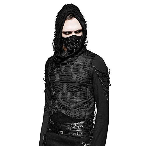 thic Cosplay Partei PU Leder Niet masken für Herren ()