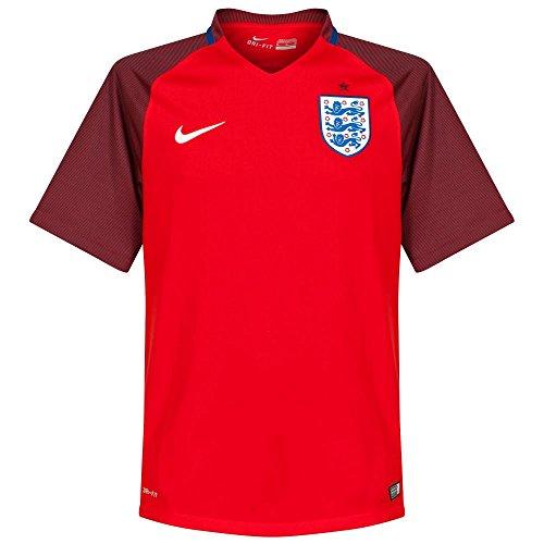 Nike Herren Trikot England Away Stadium Jersey, challenge red/deep royal blue/white, M, 724608-600