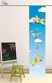 Schiebevorhang mit Druck-Motiv gardinen-for-life Fl/ächenvorhang Totenkopf Gr.60x260 cm